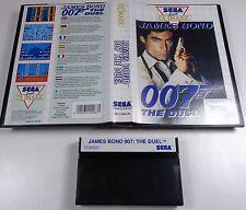 Sega Master System-Spiel James Bond 007 - The Duel TOP