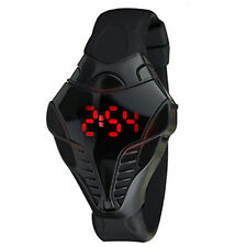 LED Digital Watch Men's Cobra Triangle Dial Silicone Sports Watches Fashion  NS