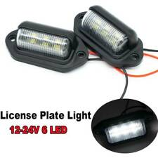 Universal Car Accessories License Plate Light 12V-24V 6LED Auto Truck Lorry Van