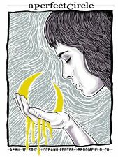 A Perfect Circle Broomfield Colorado 2017 Concert Poster Edition Of 175 #Ed Tool
