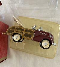 1939 Garton Ford Station Wagon 1999 Collector's Club Hallmark Keepsake Ornament