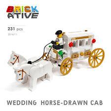 Lego Custom ** WEDDING HORSE-DRAWN CAB ** INSTRUCTIONS ONLY! instruction