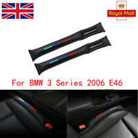 Car Seat Gap Filler Black PU For BMW 3 Series E46 1998-2007 Coupe 320 Cd Coupe