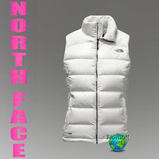 THE NORTH FACE WOMEN'S SIZE SMALL NUPTSE 2 700 FILL GOOSE DOWN VEST GREY