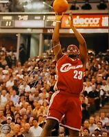 SIGNED Lebron James Cleveland Cavaliers NBA Signed Autographed 8x10 Photo w COA