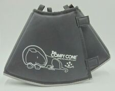 Comfy Cone E-Collar for Dogs & Cats by All Four Paws Size S in Black