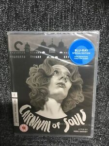 Carnival Of Souls - The Criterion Collection (Blu-Ray) New Sealed. Freepost UK