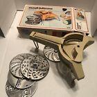 Vtg Moulinex Mouli-Julienne Slicer # 445 Shredder 5 Disks France *Parts Only*