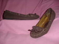 "Dark Brown Moccasin Style Loafer ""Yale"" by Dollhouse 11M"