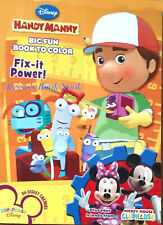 HANDY MANNY & MICKEY MOUSE CLUBHOUSE COLORING BOOK