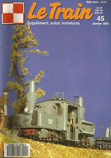 LE TRAIN N°45 SERV. REGULIER  VAPEUR  THURINGE / PICASSO VIADUC 07 / AUTORAIL