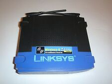 Linksys WRT54G 100 Mbps 1-Port 10/100 Wireless G Router (WRT54G V8) - Great cond