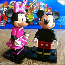 LEGO 71012 Minifigures DISNEY SERIES MINNIE MOUSE #11 & MICKEY #12 SEALED Bundle