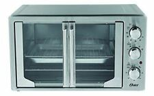 Oster TSSTTVFDXLPP-033 XL Convection Manual French Door Toaster Oven, Stainless
