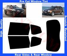 Pre-Cut Window Tint Dacia Duster 5D 2010-... Rear Window & Rear Sides Any Shade
