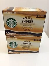 Starbucks Limited Edition Golden Smores 20 K-cups New- Keurig Rare