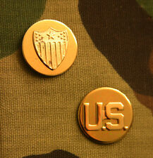 US ARMY ADJUTANT GENERAL CORPS AND U.S. ENLISTED COLLAR BRANCH INSIGNIA