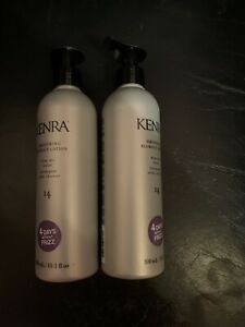KENRA SMOOTHING BLOW OUT LOTION BLOW-DRY LOTION #14 TWO 10.1 OZ SMOOTHS FRIZZ