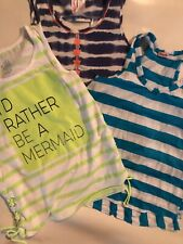 EUC Girls Tank Tops Justice Splendid Lot Of 3 Size 10
