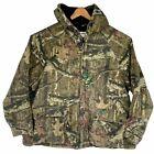 Break-Up Infinity Mossy Oak Camouflage Jacket Hooded Mens 3X Full Zip