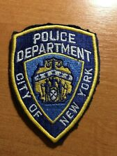 PATCH POLICE CITY OF NEW YORK NY