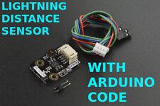 With Software + Lightning Strike Storm Distance Sensor AS3935 MA5532 Arduino