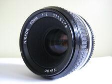 Nikon Nikkor 50mm F2 AI