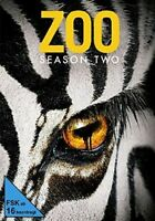 ZOO-STAFFEL 2 (JAMES WOLK, KRISTEN CONNOLLY, NONSO ANOZIE,...)  DVD NEU