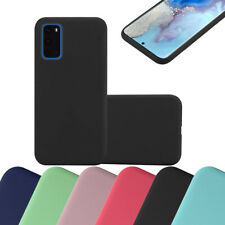 Coque Housse Silicone pour Samsung Galaxy S20 Protection Case Candy Cover