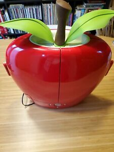 Hannspree T091 Apple Shaped LCD TV RARE Tested Working