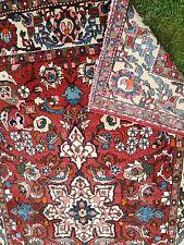 Antique Persian Isfahan  woollen rug