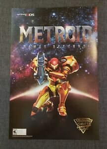 Metroid: Samus Returns Nintendo World Championships 2017 Poster
