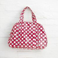 5x Job Lot Red Spotty Oilcloth Overnight Weekend Gym Bag By Katz Dancewear PP6P