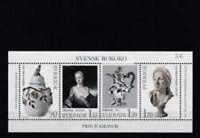 Zweden postfris 1979 MNH block 7 - Rokoko (S1746)