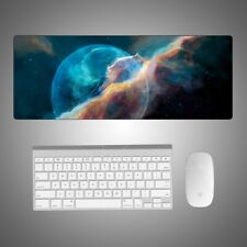 Galaxy Soft Extended Gaming Mouse Pad Large Size Desk Keyboard Mat Home Office