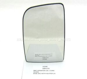 For for Mercedes-Benz Sprinter 06- Door Mirror Glass Side View Left