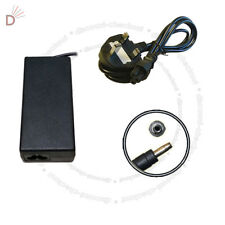 AC Charger For Compaq 500 PPP012L 394224-001 19V 90W + 3 PIN Power Cord UKDC
