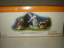 Dept 56 SV Halloween - Can't Wait For Halloween! - Set of 2 - NIB