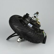 "Electric Scooter Hub Wheel Motor 24V 36V 48V DC Brushless Toothless 8"" Wheel"