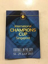 Programm ICC Singapur 2017 FC Bayern München Chelsea FC Inter Mailand FCB Top