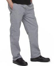 Unisex Elasticated Chefs Pants or food Prep for Restaurants Bars