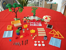 Playmobil accessoires mobilier maison de vacance