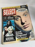 Select Magazine September 1992 Happy Mondays Nirvana Julian Cope Sonic Youth