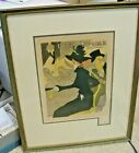 Henri Toulouse Lautrec, DIVAN JAPONAIS, lithograph/ MAITRES DE L'AFFICHE 1895-96