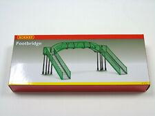 R076 Hornby 00 Gauge Model Railway Station Footbridge Kit (2 Track Width) New