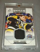 18-19 Sidney Crosby UD SP Game Used 2018 All Star Skills Fabric Jersey Card