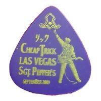 Cheap Trick Rick Nielsen Las Vegas Genuine Tour Guitar Pick - 2009 Tour