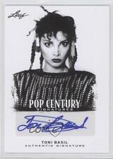 2012 Leaf Pop Century #BA-TB1 Toni Basil Auto Autographed Non-Sports Card 0q0