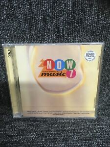 NOW THATS WHAT I CALL MUSIC 7 [2 CD] NEW & SEALED. Freepost In Uk.