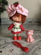 New ListingVtg Strawberry Shortcake Doll With Custard Cat, Complete, Kenner,